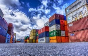 Container als Grundlage der Logistik